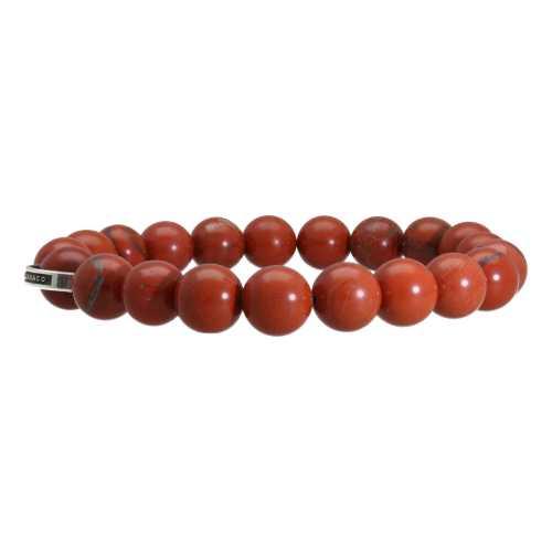 Armband Luxury B10 – Redstone Jaspis – Sterling Zilver