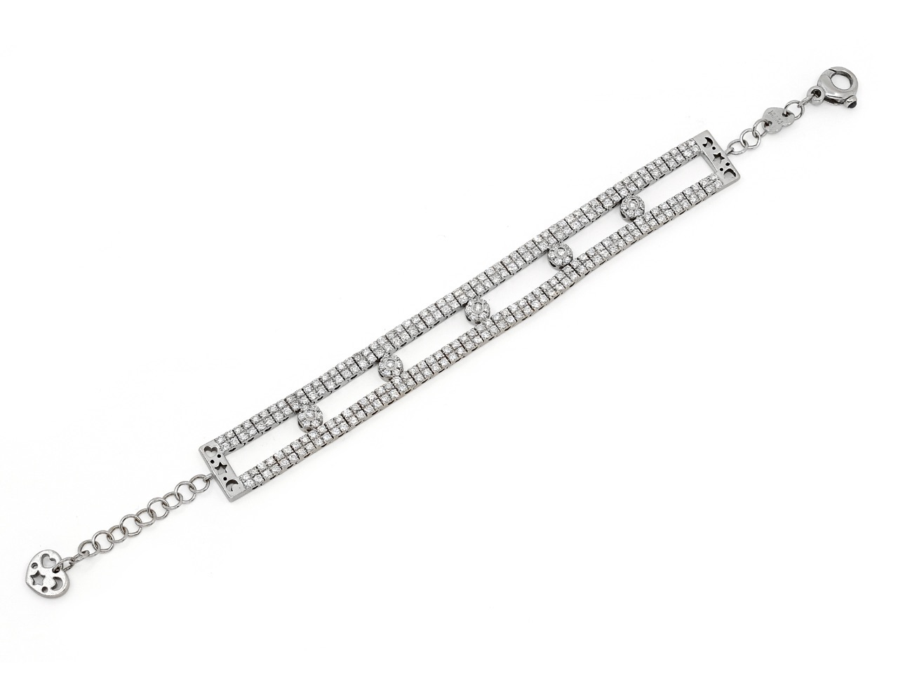Pasquale Bruni Star, Heart and Moon Diamond Bracelet in