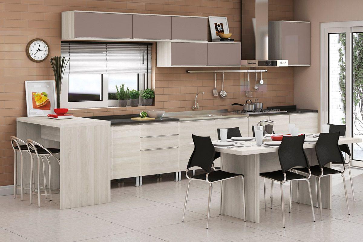 Cozinhas modernas planejadas para seu lar  Bela  Feliz