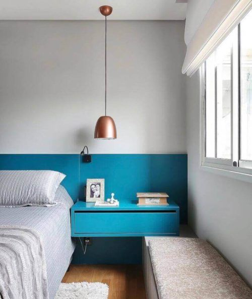 Decorao Azul Turquesa Paredes Mveis Ambientes  Bela