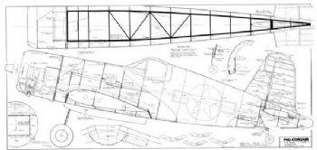 F4U Corsair plan by Ziroli