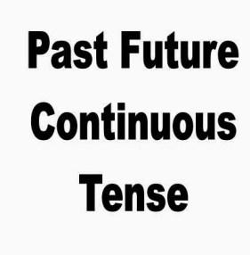 Arti,Rumus dan Contoh Past Future Continuous Tense