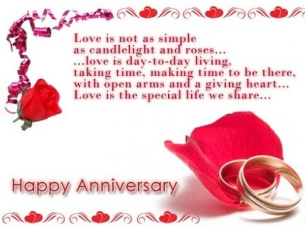 simple quotes about love and marriage anniversary