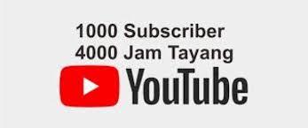 cara mendapat 4000 jam tayang di youtube