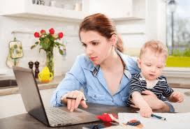 usaha kecil kecilan ibu rumah tangga yang punya anak kecil