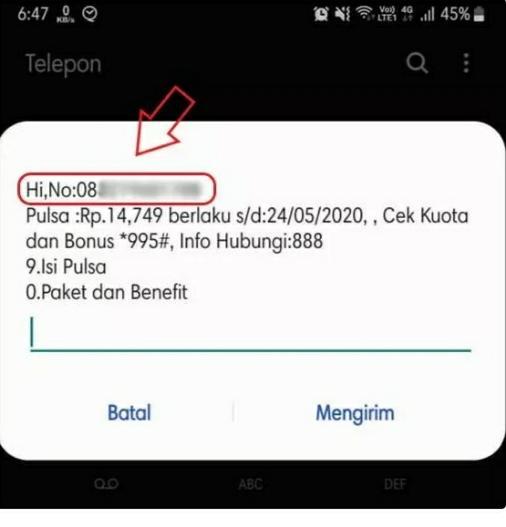 cara cek nomor telepon smartfren unlimitied