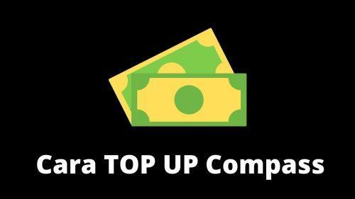 cara top up compass