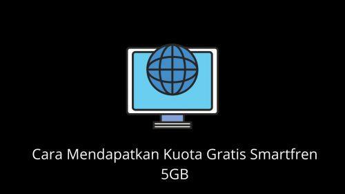cara mendapatkan kuota gratis smartfren 5GB