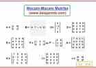Pengertian Matriks dan Macam-Macam Matriks