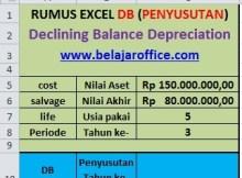 Rumus Excel DB