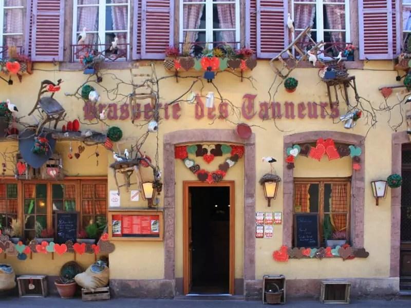 colmar france exterior decoration shop