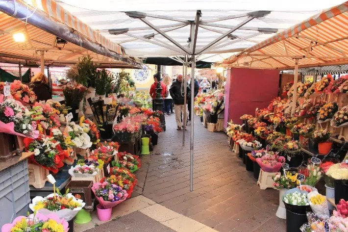 Cours Saleya, old town, what to do in nice france
