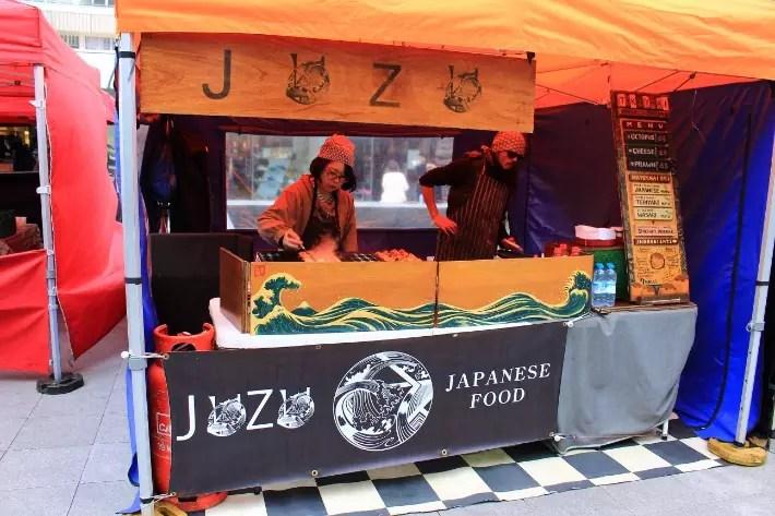 Japanese Food, London, UK