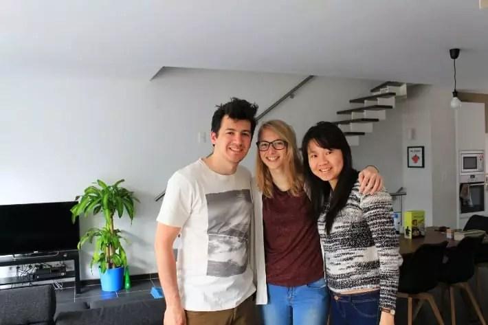 couchsurfing hosts in ghent, belgium