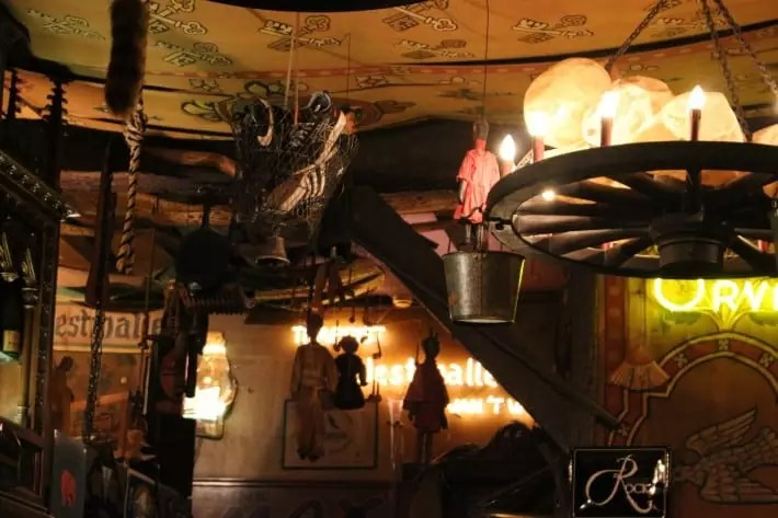 shoe deposit in ghent pub, belgium