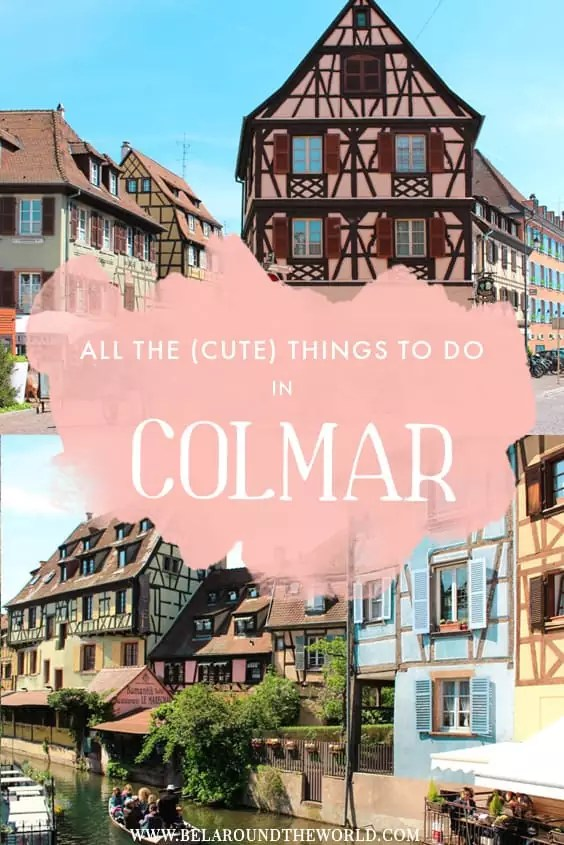 From Colmar's Christmas markets to Little #Venice, #Colmar Centre Ville is where it's all happening at! Don't miss these 7 fancy things to do that will make you fall in love with this CUTE town in #France! #europetravel #traveleurope #visiteurope