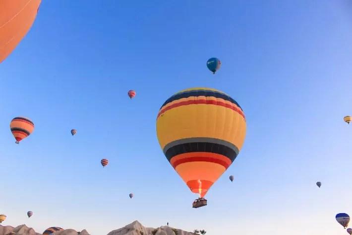 sunrise hot air balloon, things to do in Cappadocia, Turkey
