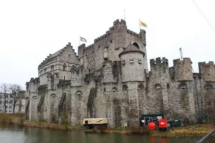 castle of the counts, gent, belgium