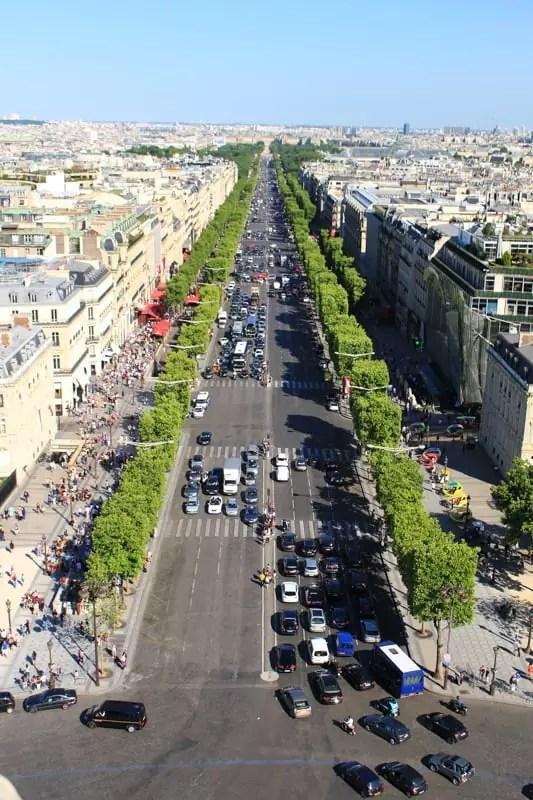 Champs-Élysées, paris arrondissements map, best places to visit in paris