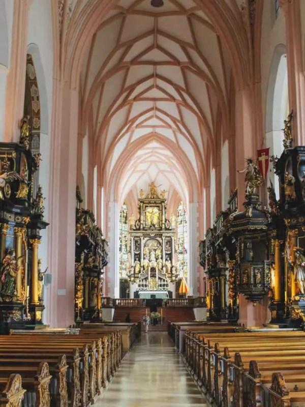 salzburg austria sound of music tour chapel nave church ornate