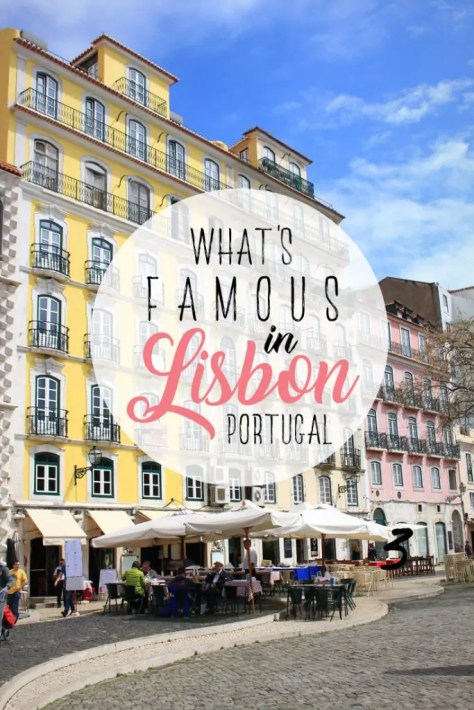 What's famous in Lisbon, Portugal | What's Lisbon known for? Find all about Lisbon food, Lisbon old town, things to do in Lisbon at night and getting around Lisbon the easiest way ever!