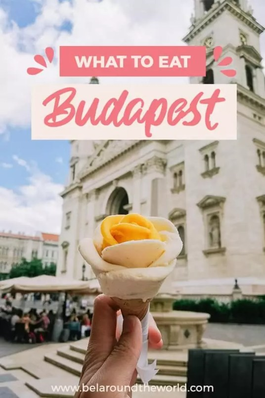 From the best Hungarian restaurants in Budapest to Michelin star #restaurants in Budapest, click through for some ideas on what to #eat in #Budapest, including #streetfood and best pubs! #Hungary