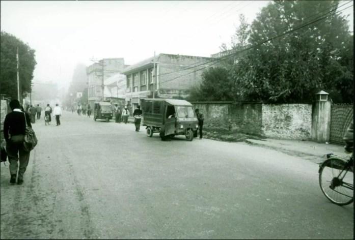 Nepal-Kathmandu-Street