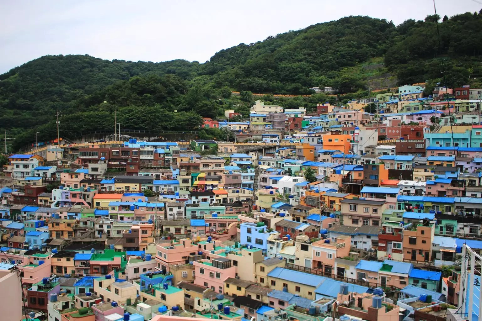 gamcheon culture village   What to to Do, See and Eat in Busan Korea