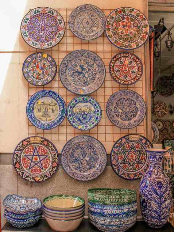 Granada Spain Traditional Pottery Handicraft Goods Souvenirs