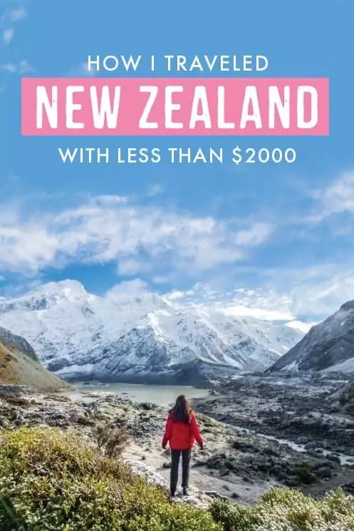 Want to travel travel new zealand on a budget? This post tells you how it's done! From cheap car rental to affordable accommodation, find the exact cost to travel to #NZ and more #newzealand travel tips!
