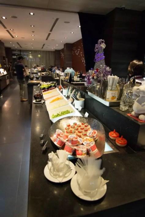WESTGATE Hotel Taipei Breakfast buffet