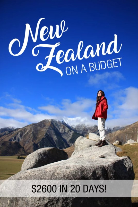 new zealand on a budget, new zealand trip cost, new zealand expensive, cost to travel to new zealand