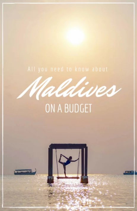 Maldives budget maafushi cheap