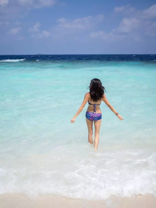Maldives Maafushi island