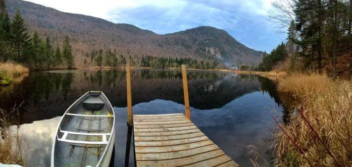 autumn lake peaceful quiet