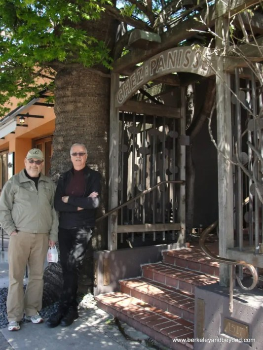 BERKELEY-Chez Panisse-exterior-after fire-Jeff+John-c2013 Carole Terwilliger Meyers-watermark