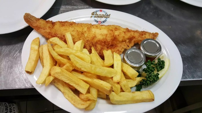fish and chips london uk famous dish