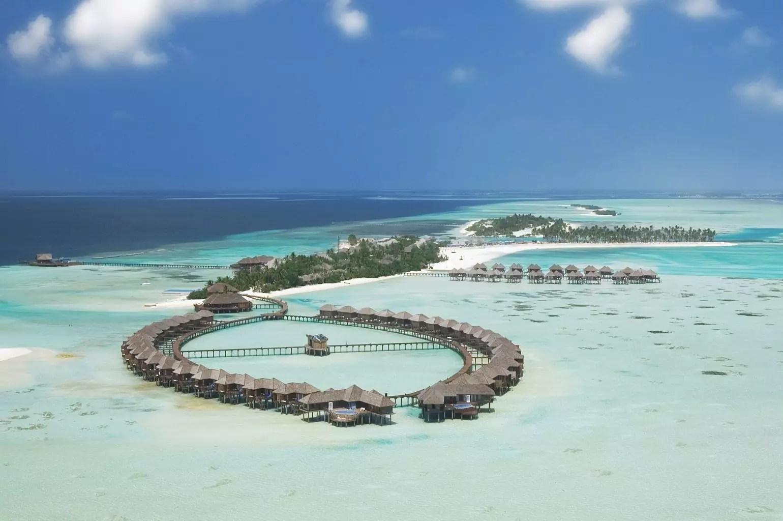 Olhuveli Beach & Spa Maldives aerial
