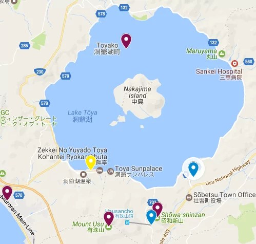 lake toya itinerary hokkaido japan