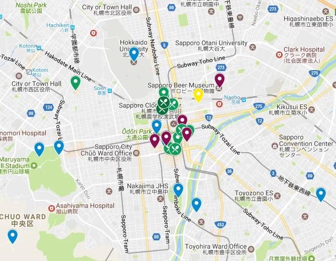 sapporo itinerary hokkaido japan what to see do