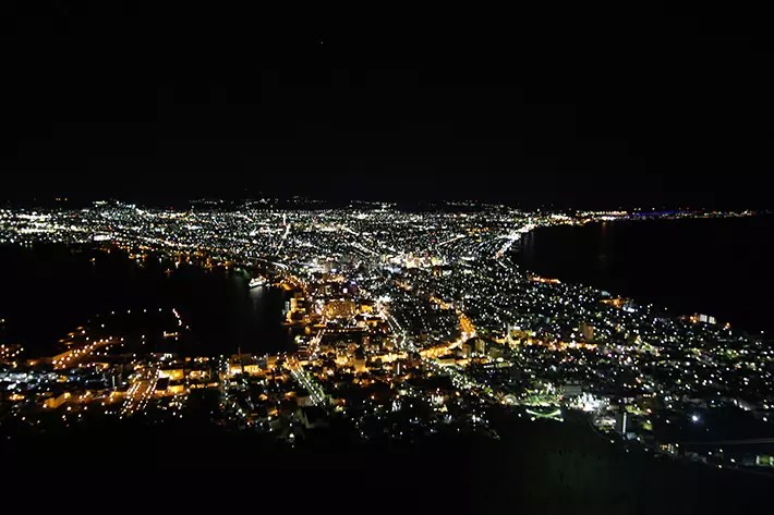 mount night view Hakodate & Toya - 6-Day South Hokkaido Itinerary, hakodate itinerary, things to do in hakodate, what to do in hakodate, hakodate must eat