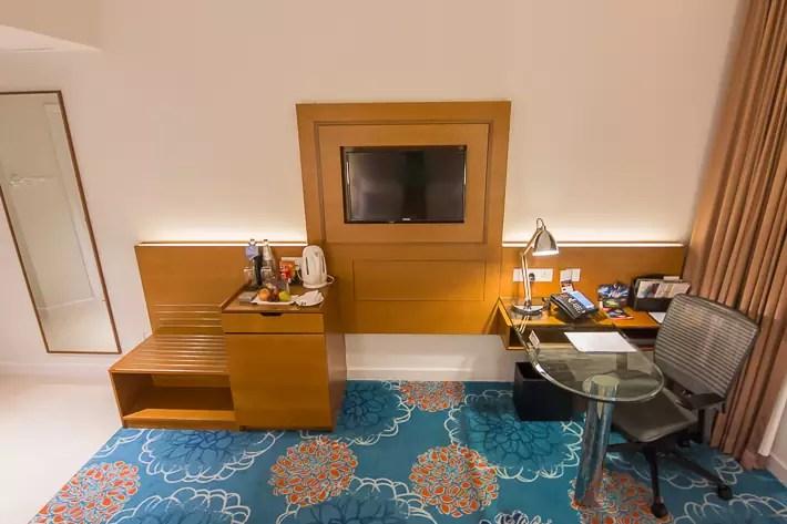 Premier King Room, Swissotel Merchant Court Singapore -1