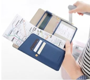 Slim Travel Passport Wallet Organizer TRAVEL GIFTS