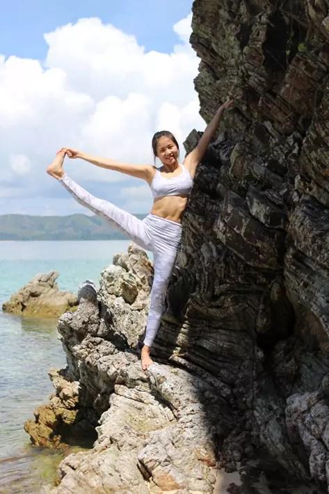 club paradise palawan coron yoga rock