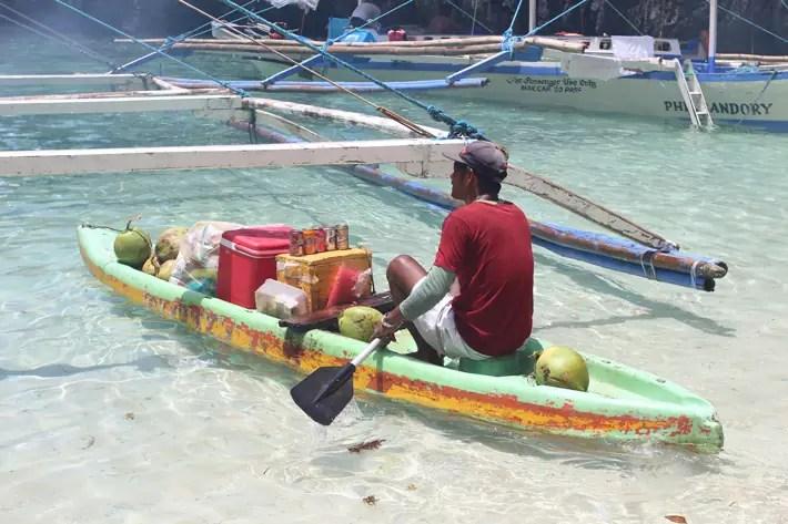 el nido kayak shop drinks