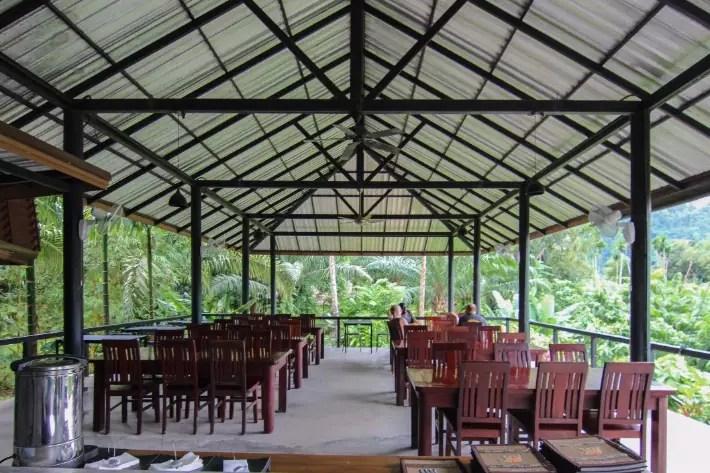 anurak community lodge khao sok national park hornbill restaurant