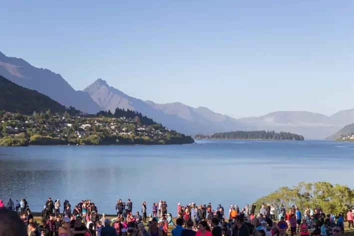 Air New Zealand Queenstown International Marathon view scenery