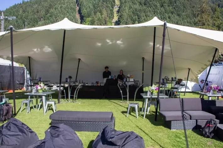 Air New Zealand Queenstown International Marathon vip tent