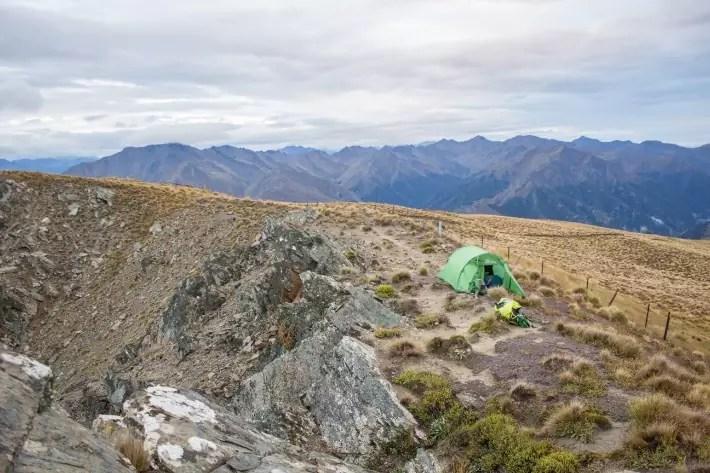 breast hill wanaka camping summit new zealand
