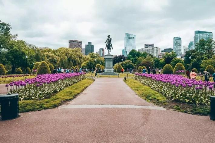 Boston Public Gardens, 2 Days in Boston, weekend in Boston itinerary
